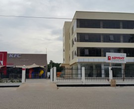 Three storey office building on Haile Selassie